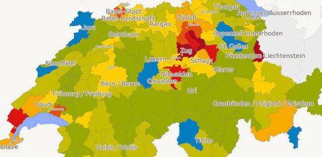 Kaufkraft-Karte