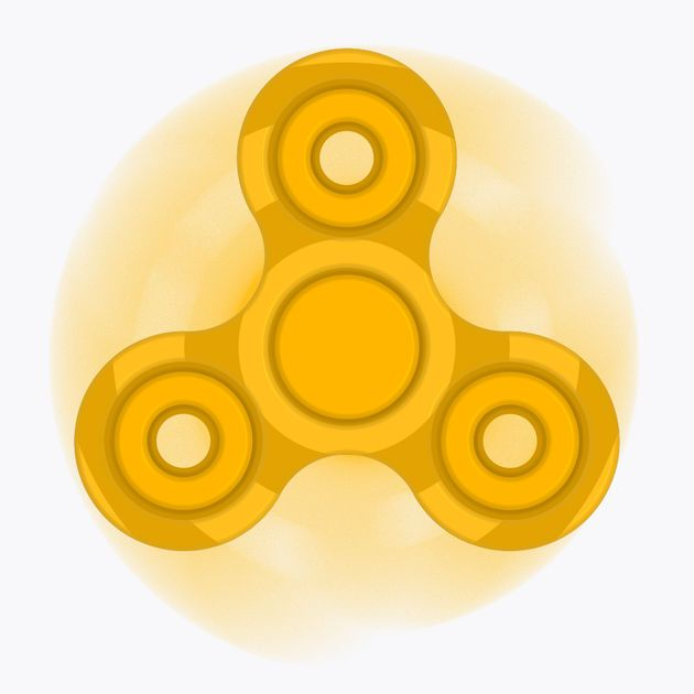 #NEW #iOS #APP Fidget Spinner - Simulator - Kien Hai