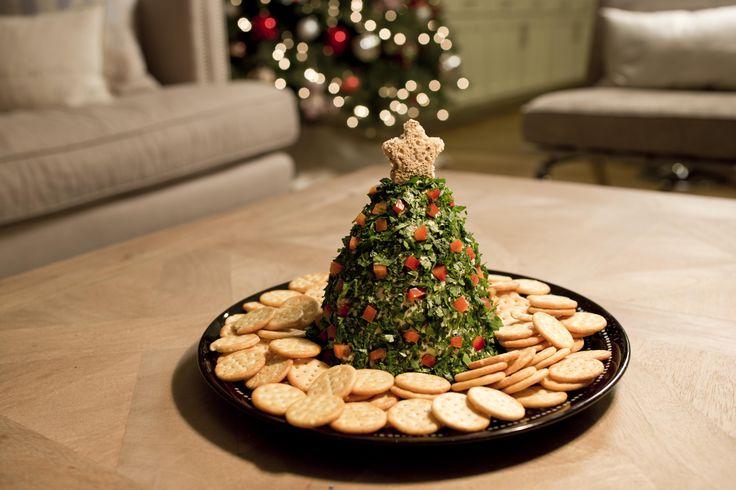 Deliciosa botana de árbol de navidad, ideal para sorprender a tu familia en esta…