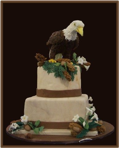 giant eagle wedding cake designs 8 best cakes eagles images on eagles 3d 14685