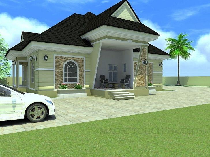 Awesome Bedroom Bungalow Architectural Design Four Elegant Modern Duplex Four Bedroom Bungalow Pic Castle House Plans Latest House Designs Model House Plan