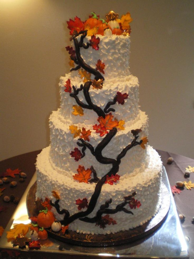Wedding cake inspiration ideas buttercream wedding cake for 3 tier pumpkin decoration