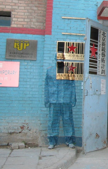 When searching for similar artists or photographers I found Liu Bolin who almost…