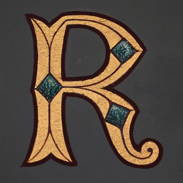 letter R, via Flickr.