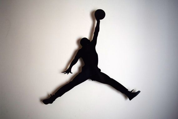 Low cognitive effort, the jump man logo, this is apparent to anyone that knows the Jordan Brand.