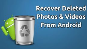 Learn How To Recover Deleted Photos & Videos From Android (Top 4 Ways) Easy methods which will help you recover your lost photos and videos from android