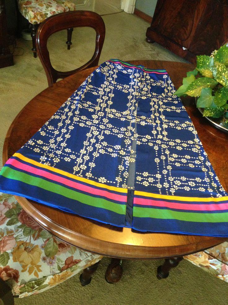 ARMONIA 70s long skirt and top