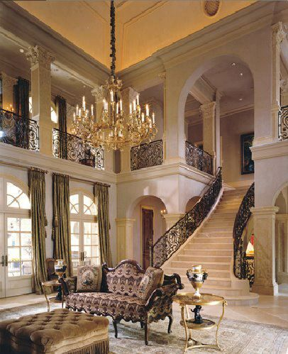 That staircase is breathtaking.