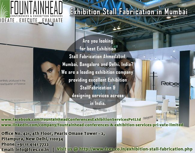 We Have Experts For Exhibition Stall Fabrication Designer In Delhi Mumbai Bangalore And Ahmedabad