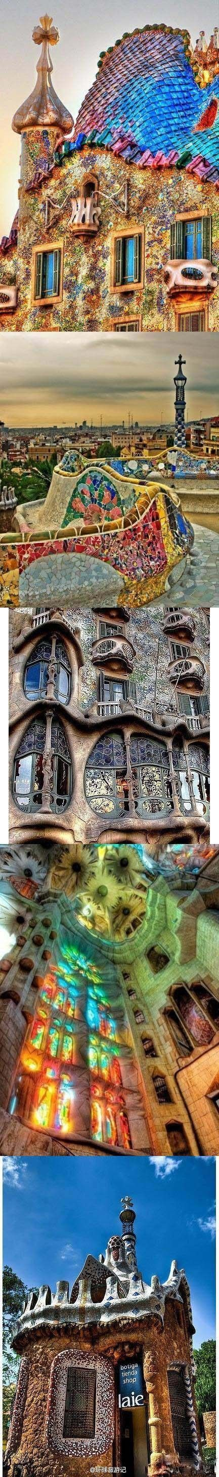 Barcelona -Gaudi's work is absolutely stunning, it makes you feel like you have jumped into a fairy tale book and never want to leave.