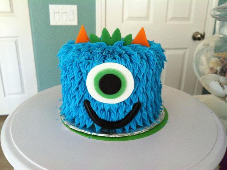 Little monster cake by Kim Ellis.