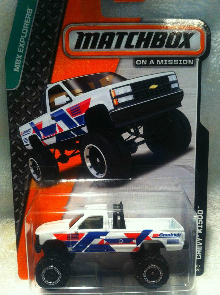 Matchbox Chevy K1500 Matchbox, Diecast trucks, Chevrolet