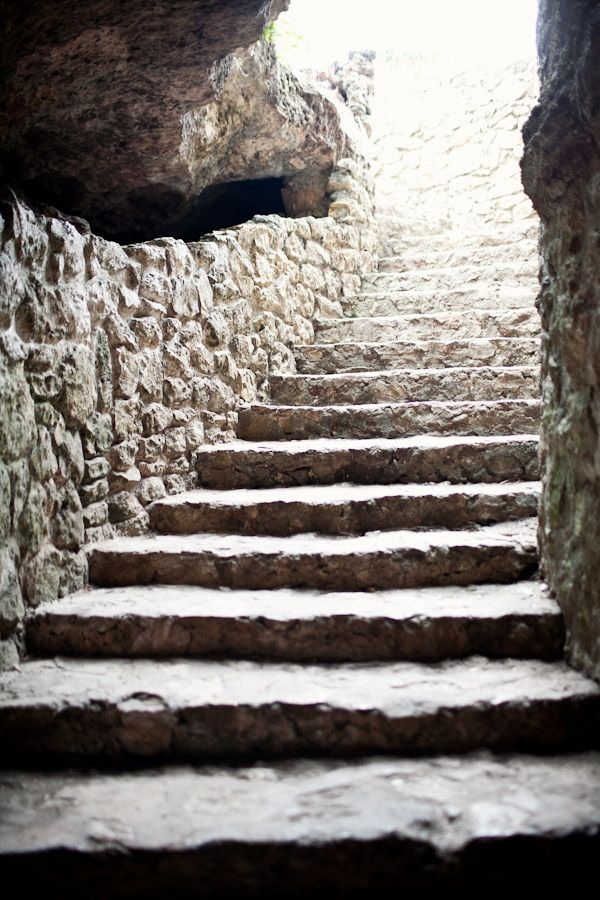 Stairway in Cenote Zaci in Valladolid   photography by http://www.brookelynphotography.com/