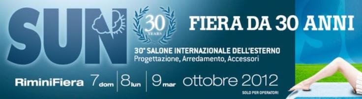 SUN Rimini Fiera progettazione, arredamento, accessori per esterno 2012