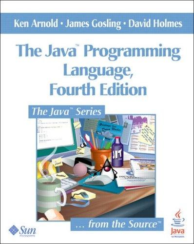 Java™ Programming Language, The (4th Edition)