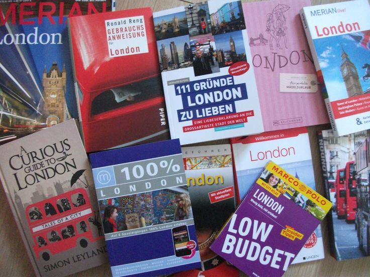 Pflichtlektüre: Meine liebsten 5 Reiseführer über London