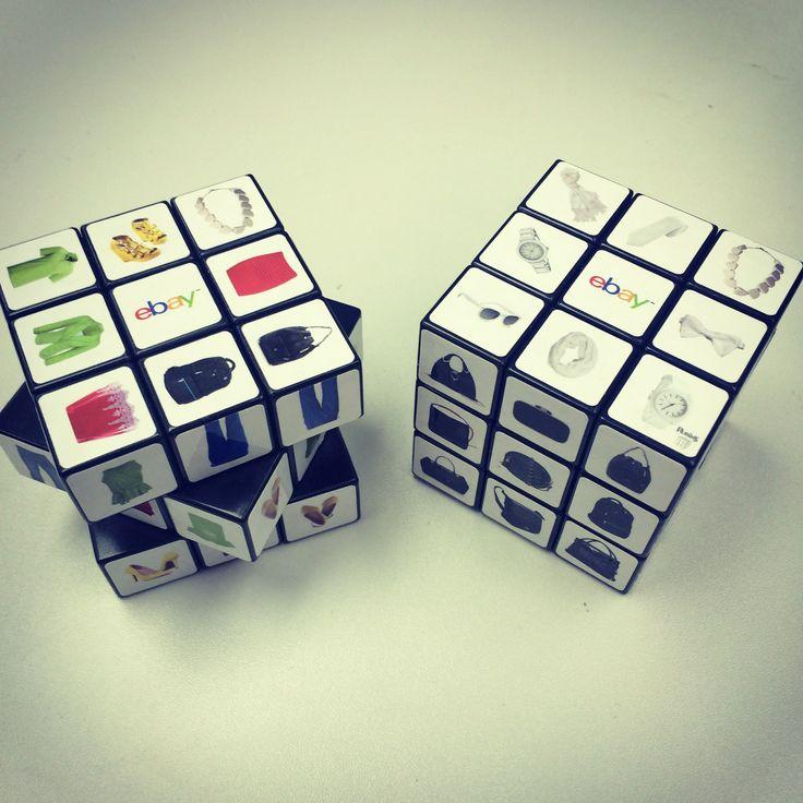 3 x 3 Rubik's Cube made for ebay