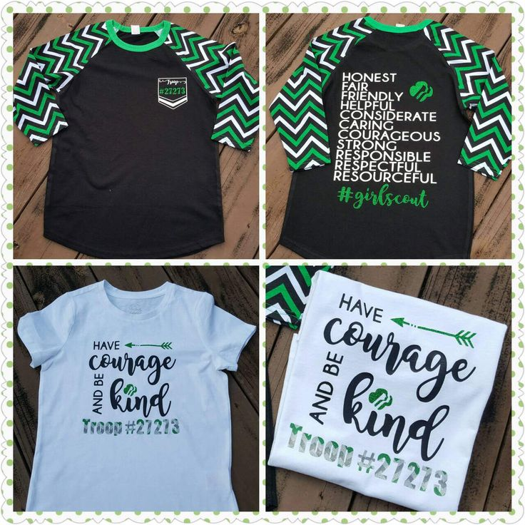 Super cute Girl scout shirts by Memoscrafts on Etsy https://www.etsy.com/listing/506142673/super-cute-girl-scout-shirts