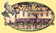C.H. Moore Homestead - Clinton Illinois field trip
