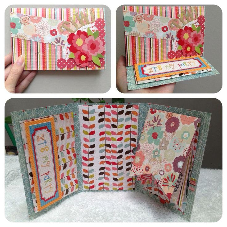 Pretty way to greet your friend #handmadegift #scrapbook #greetingcards #papercraft #giftideas