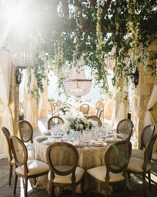 Dreamy This Maliburockyoaks Wedding Reception Featuring Our Cane