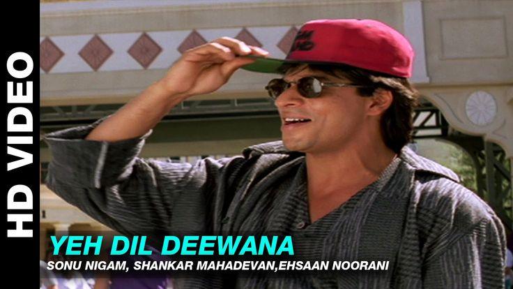 Yeh Dil Deewana - Pardes   Shahrukh Khan   Sonu Nigam   Nadeem Shravan
