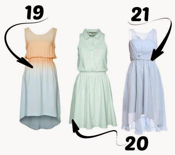 wiosenne sukienki