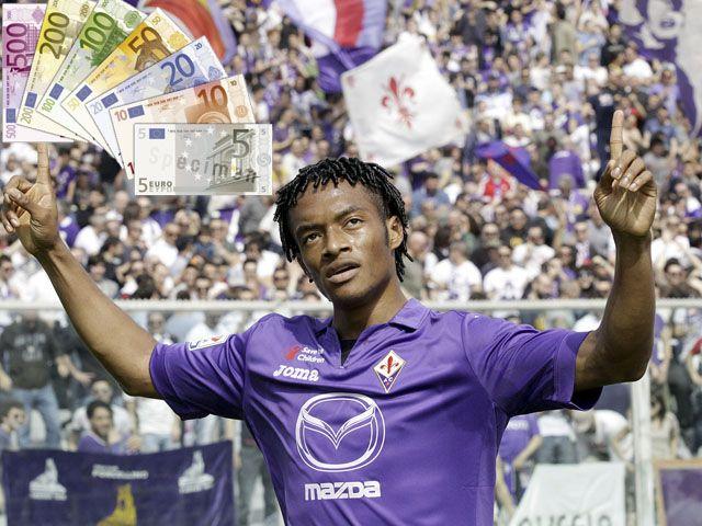 Fiorentina: italianos le pusieron cifra millonaria a Juan Cuadrado para ser vendido. May 02, 2014