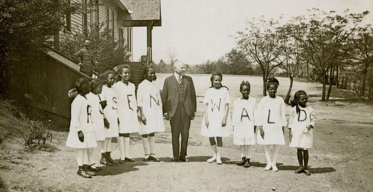 Meet the Jew who built 5,300 schools for black children in the 1900s Deep South…