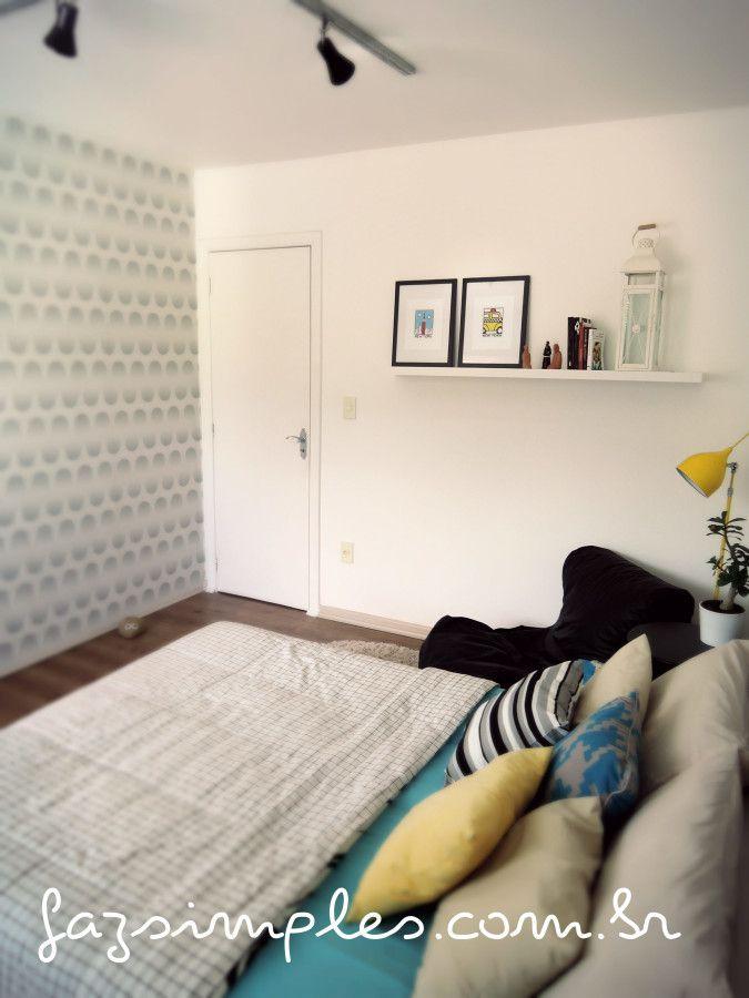 reformar piso colocação de piso laminado no quarto de casal