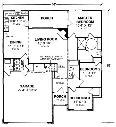 35 best ada/wheelchair accessible house plans images on pinterest
