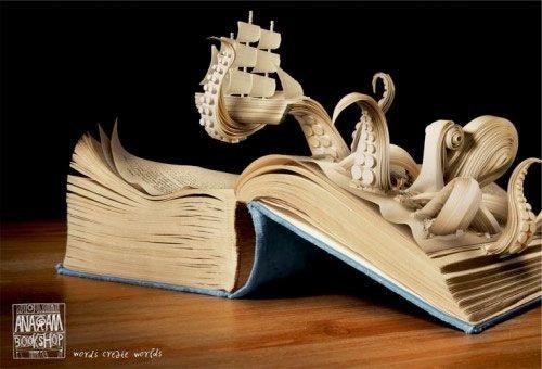 Impresionantes ejemplos de arte con papel