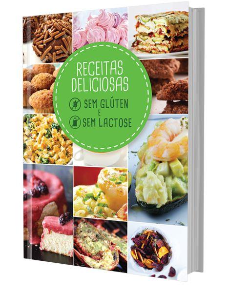 """Já conhece o nosso livro de receitas """"Sem Glúten e Sem Lactose""""?  Registe-se e receba Grátis o nosso livro!"""