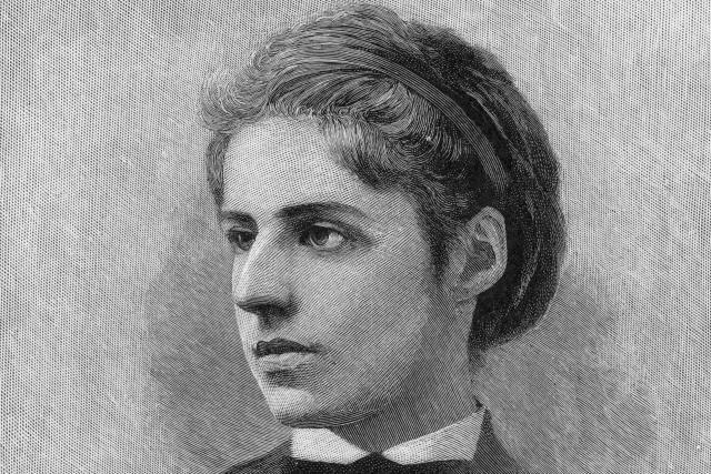 A poem by Emma Lazarus essentially changed the meaning of the Statue of Liberty, which had not been intended to be a symbol of immigration.