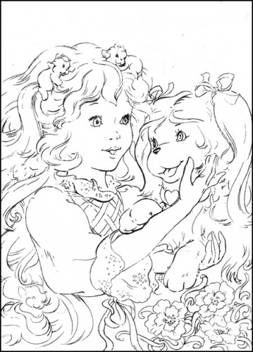 17 best images about lady lovely locks on pinterest baby for Lady lovely locks coloring pages