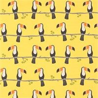 Products | Scion - Fashion-led, Stylish and Modern Fabrics and Wallpapers | Terry Toucan (NSCK120464) | Guess Who? Fabrics
