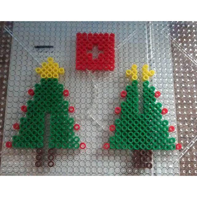 3D Christmas tree hama beads by aleggsp