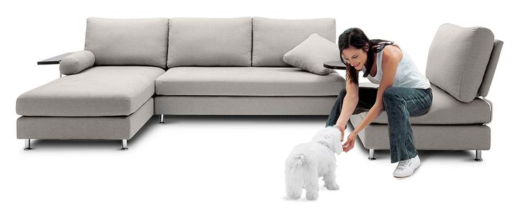 The Delta 2 is a versatile sofa that has featured on the Oprah Winfrey show.  It has  ventilated storage  and comes in a variety of colours and fabrics.