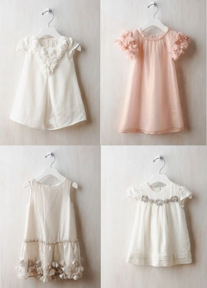 so dainty and feminine. Would be a cute blessing dress.