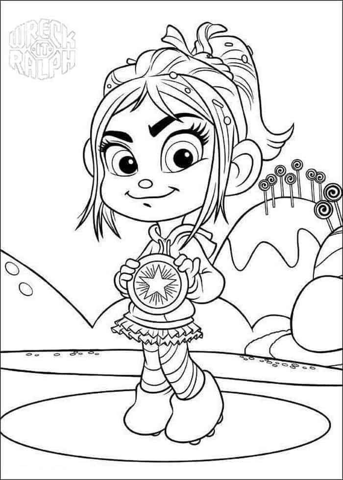 Penelope Wreck It Ralph Coloring Pages Disney Princess Coloring Pages Coloring Pages Princess Coloring Pages