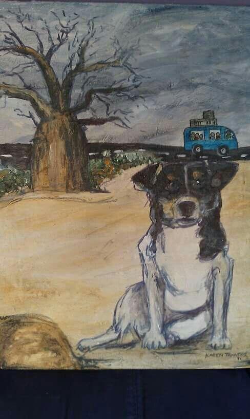 'Zita' Acrylic on canvas 2010