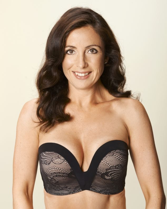 Wonderbra Ultimate Strapless Lace Up to a  G-Cup Bra £36, Wonderbra.co.uk