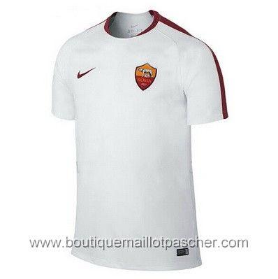 Maillot de foot pas cher entrainement AS Roma 2016 blanc