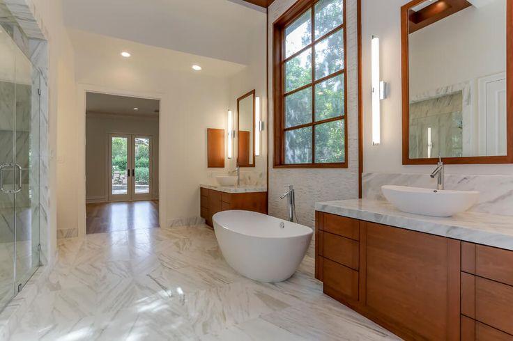 Check out our contemporary bathroom design!