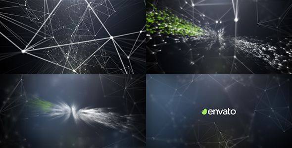 plexus logo reveal abstract after effects templates