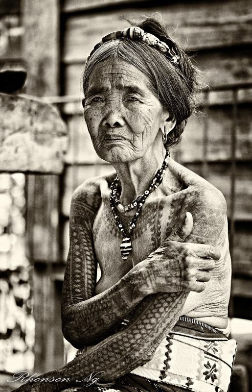 Filipino Tattoo Artist | Apo Whang Od | Oldest Female Tattoo Artist