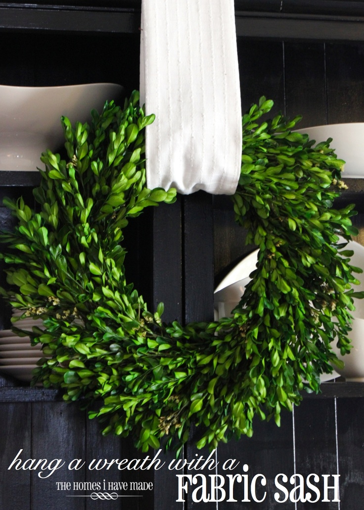 1000 Images About Wreath Hanging Tips On Pinterest