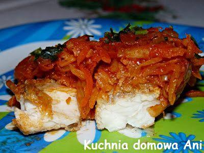 Kuchnia domowa Ani: Ryba po grecku II