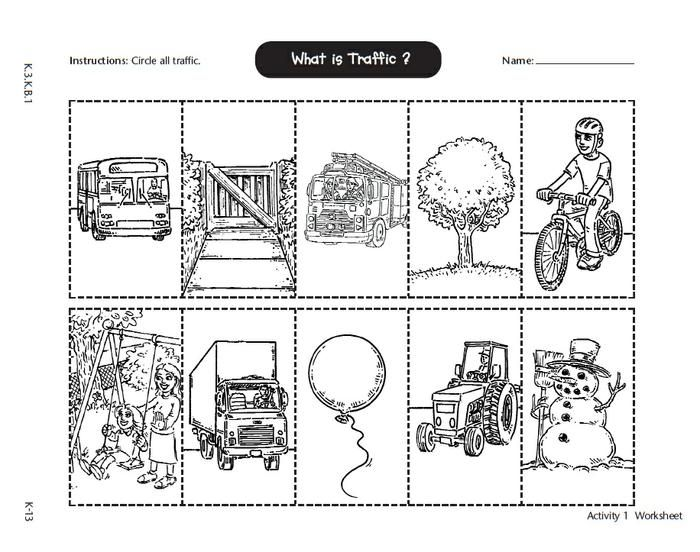 math worksheet : health  safety learning about road safety  safety units  : Safety Worksheets For Kindergarten