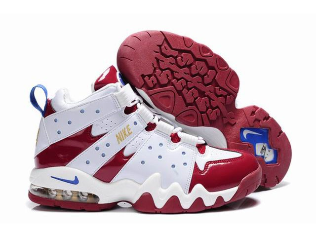 New Nike Air Max2 CB 94 Red/White - Charles Barkley Shoes